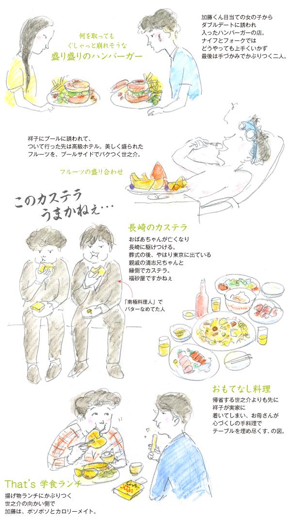 おいしい映画-横道世之介